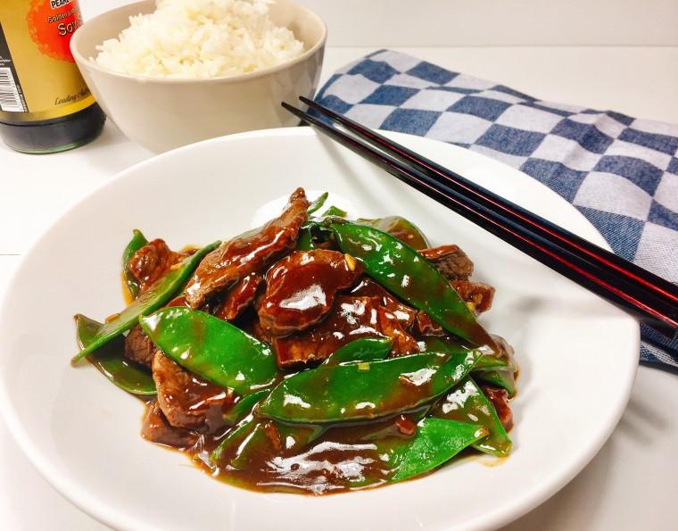 Chinese biefstuk met peultjes 3