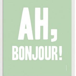 AhBonjour-unframed