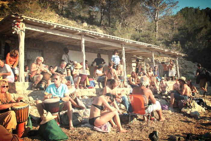 Benirras Beach Ibiza Sunday Drums09