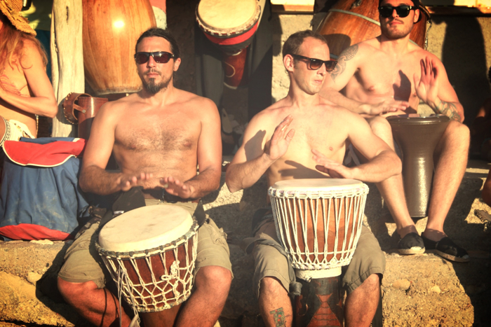 Benirras Beach Ibiza Sunday Drums15