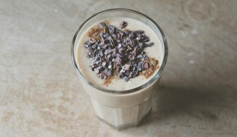 Romige winterse smoothie 2
