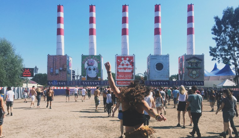 Lowlands in 10 foto's cover - - 1