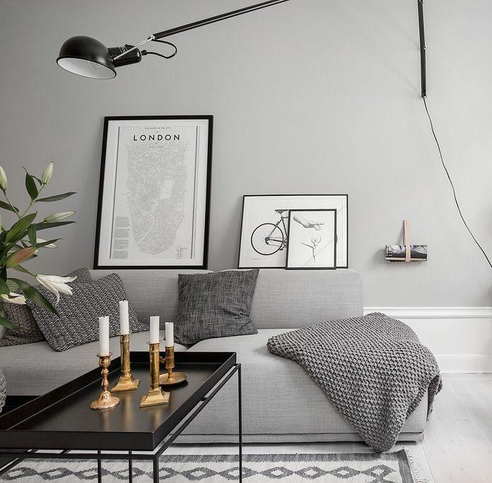 Wooninspiratie: grijs op de muur?  Styleguide