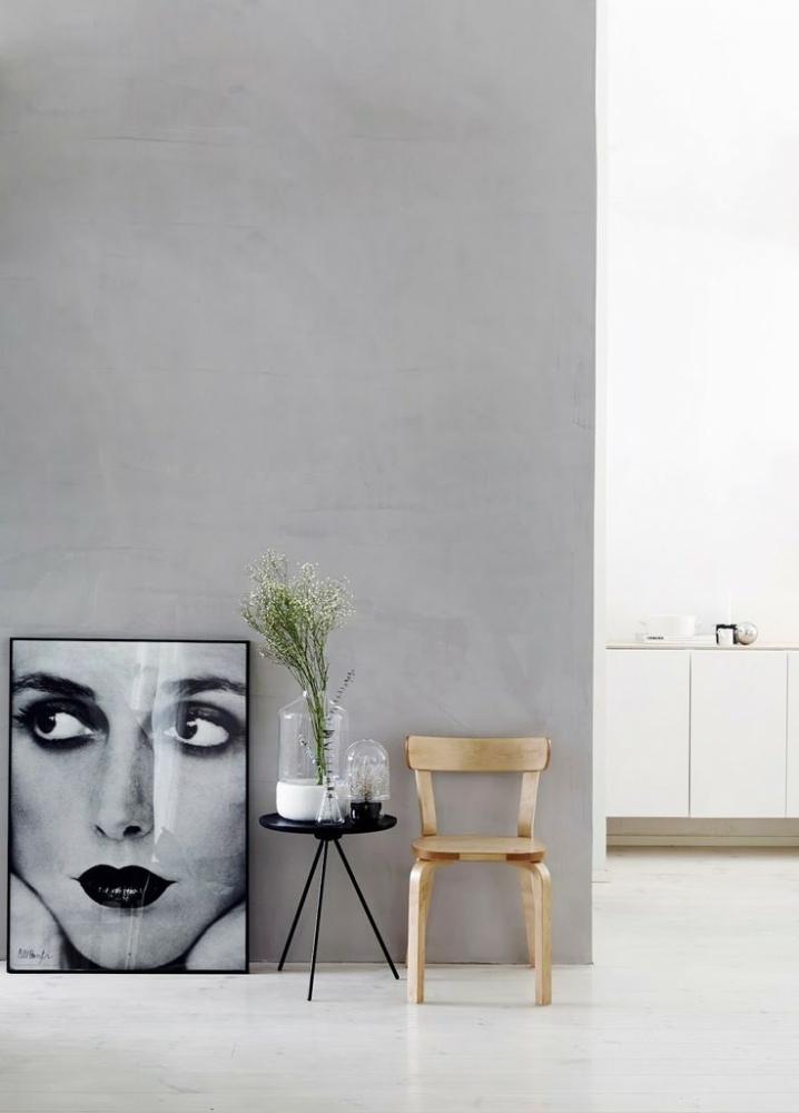 Wooninspiratie grijs op de muur styleguide - Leisteen muur ...