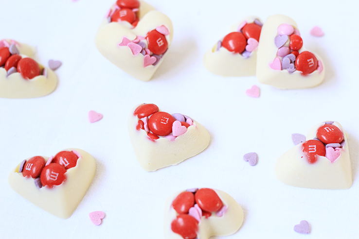 Sinner Sunday: Valentijnshartjes - Chickslovefood.com Smarties Vlaardingen