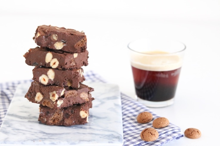 Rocky Road koffie - Chickslovefood