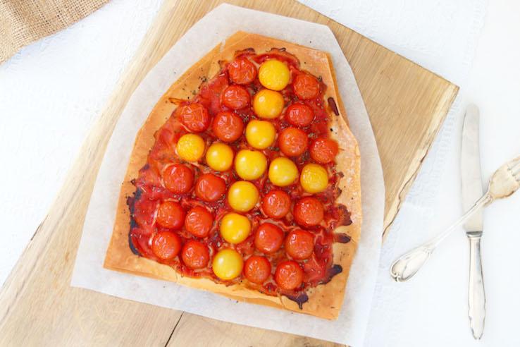 filodeeg-pizza-sinterklaas-met-tomaten - CHICKSLOVEFOOD