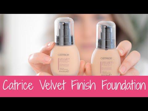 Eerste Indruk: Catrice Velvet Finish Foundation