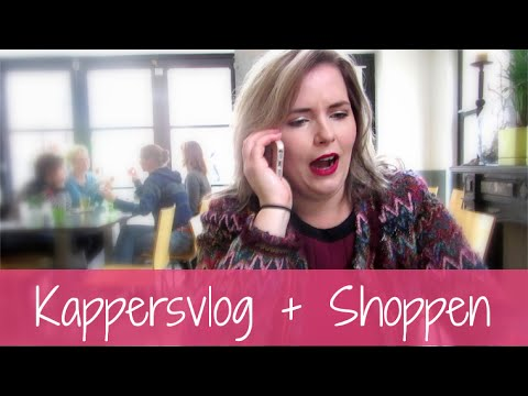 Kappersvlog + Shoppen!
