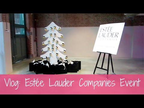 Vlog: Estée Lauder Christmas Event