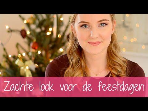 Zachte make-up look voor de feestdagen