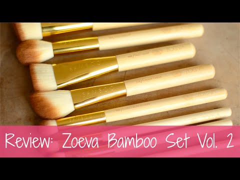 Zoeva Bamboo Vol. 2 Brush Set
