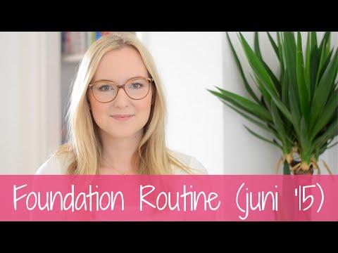 Willemijn's foundation routine (juni '15)
