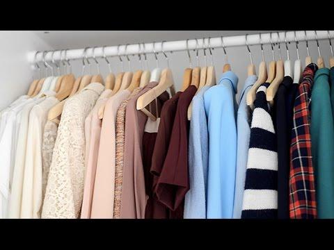 Een kijkje in mijn kledingkast