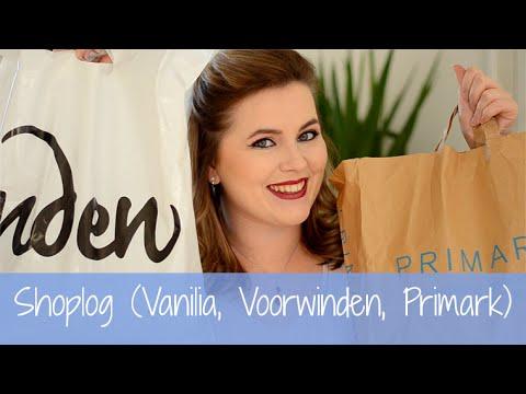 Shoplog (Vanilia, Voorwinden, Primark)