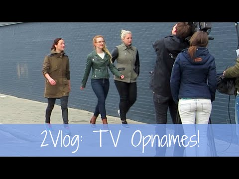 2Vlog: TV opnames!