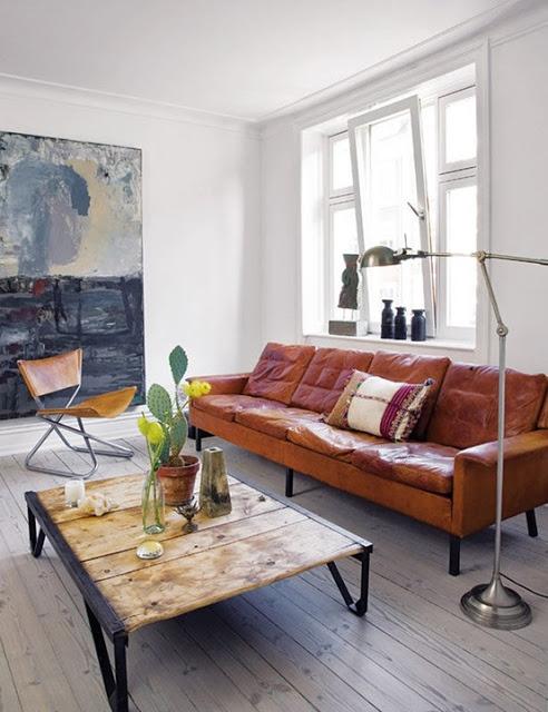 9x cognac leren banken interior junkie for Cognac kleur combineren interieur