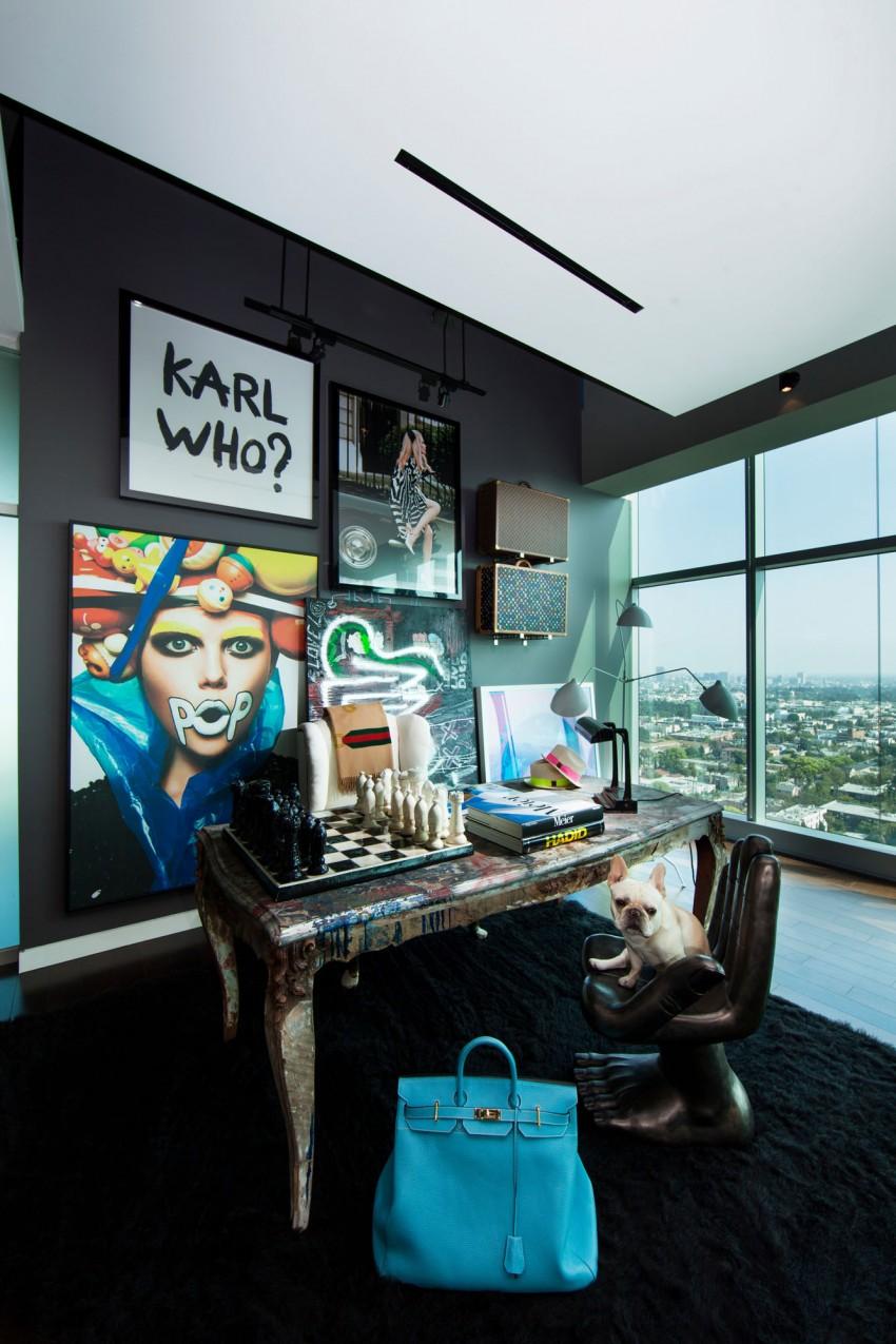 Binnenkijken in een l.a penthouse   interior junkie