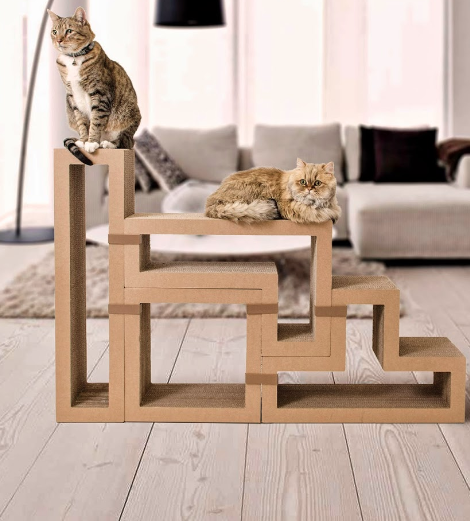 Loungeplek voor katten - INTERIOR JUNKIE