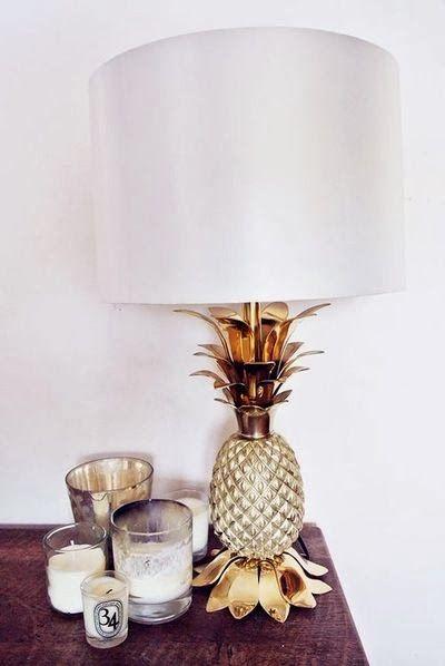 Ananas als woonaccessoire