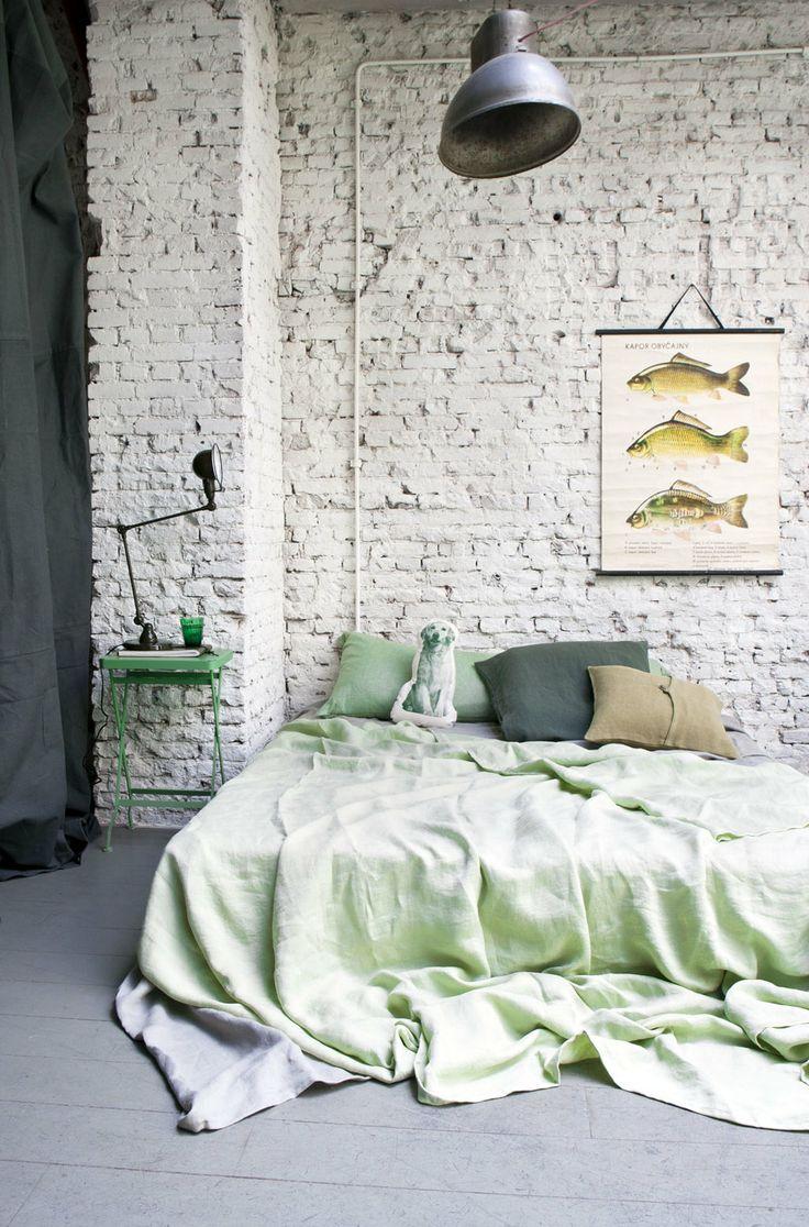 8x bakstenen muren interior junkie - Camera industrial chic ...
