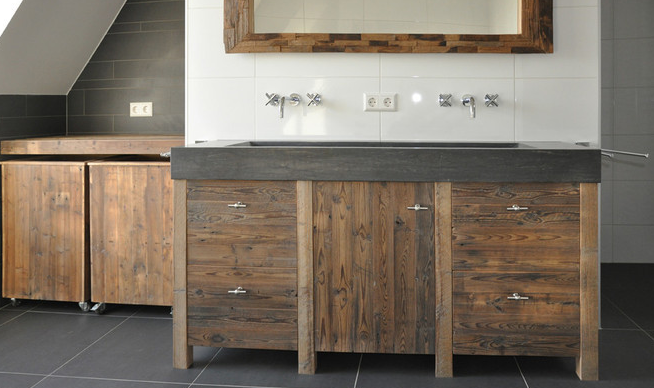 10x houten badkamermeubels interior junkie