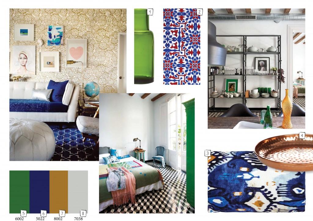 Eclectische interieurs zijn eigenzinnig, stijlvol en in balans. In dit ...