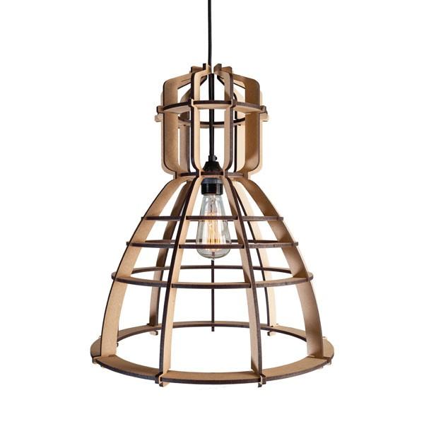 Keuken Gereedschap Den Haag : Industriele lamp in een houten jasje – INTERIOR JUNKIE