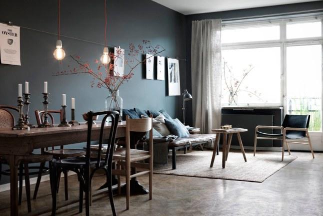 Warme Donkere Woonkamer : Donkere woonkamer inrichten