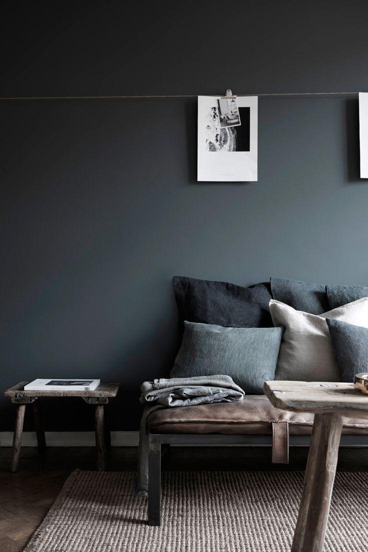 Warm huis vol donkere tinten - INTERIOR JUNKIE
