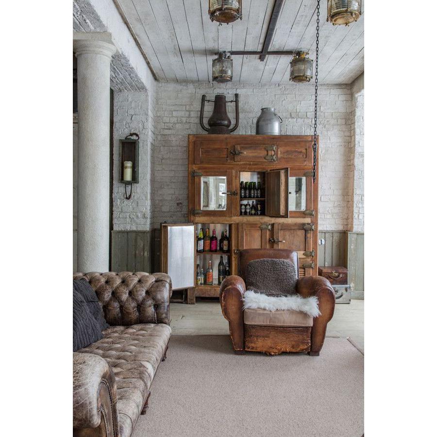 12x vintage leer in huis   interior junkie