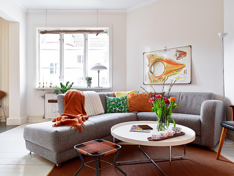 Marktplaats Keuken Recht : Small Apartment Rustic Living Room