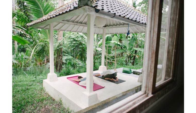 Kleurrijk huis op Bali