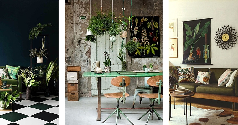 Woontrend botanische interieurs interior junkie - Decoracion plantas interior ...