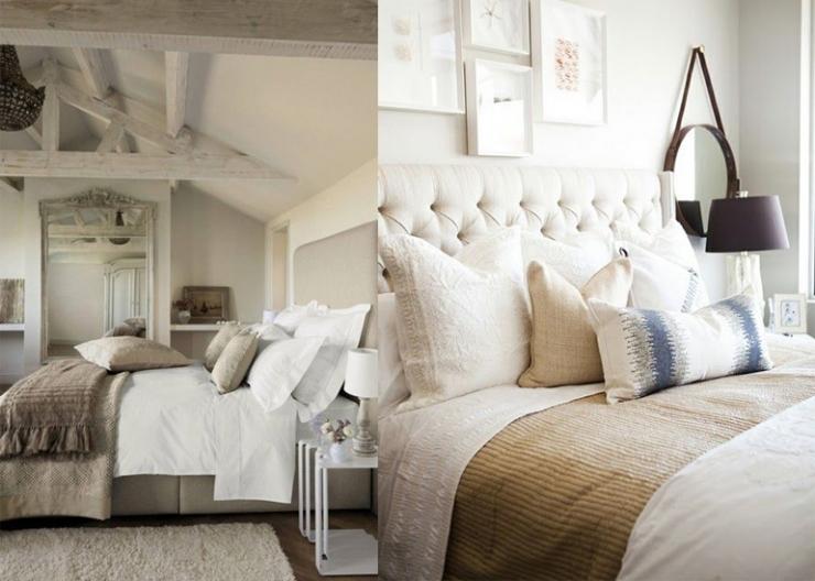Landelijke Slaapkamer Grijs : 8x beigetinten in de slaapkamer ...