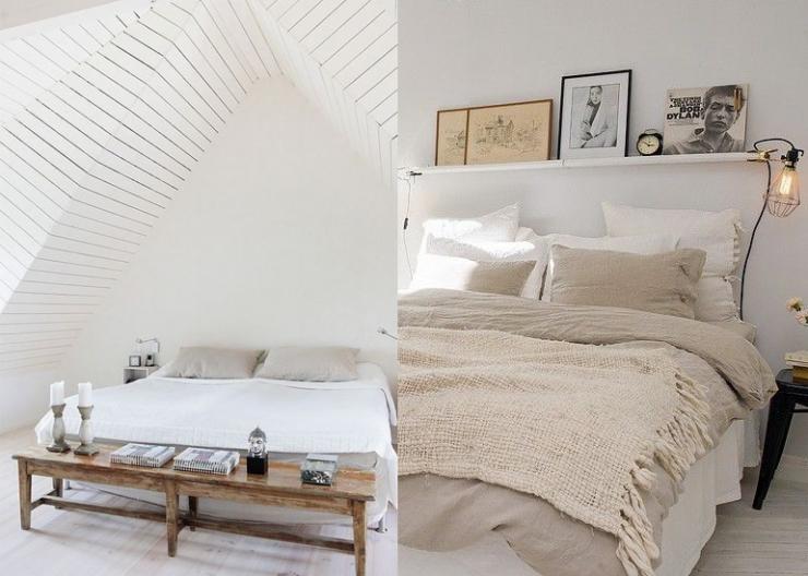 Slaapkamer Ideeen Scandinavisch : Slaapkamer scandinavisch slaapkamer gordijnen huis ontwerp ideeen