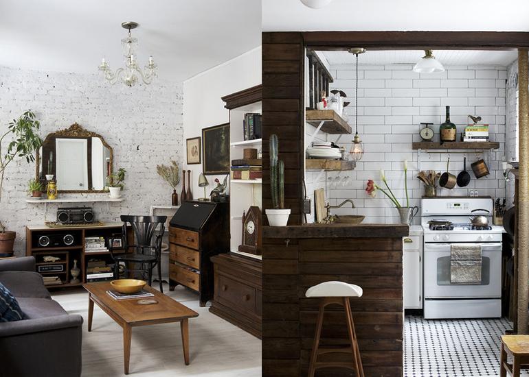 Donkere Keuken Lichter Maken : Compact wonen in Downtown Manhattan – INTERIOR JUNKIE