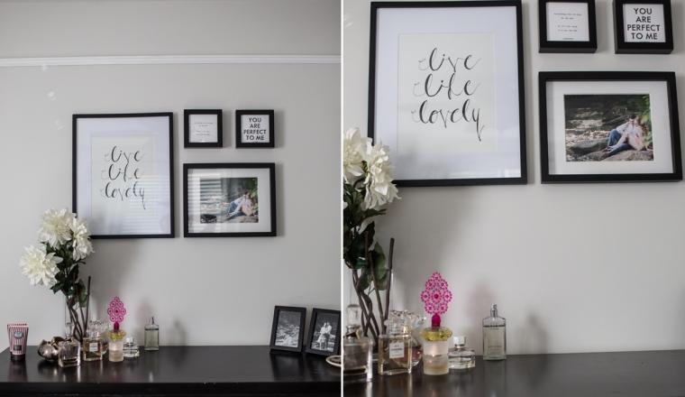 slaapkamer fotolijstjes aan de muur quotes Quotes