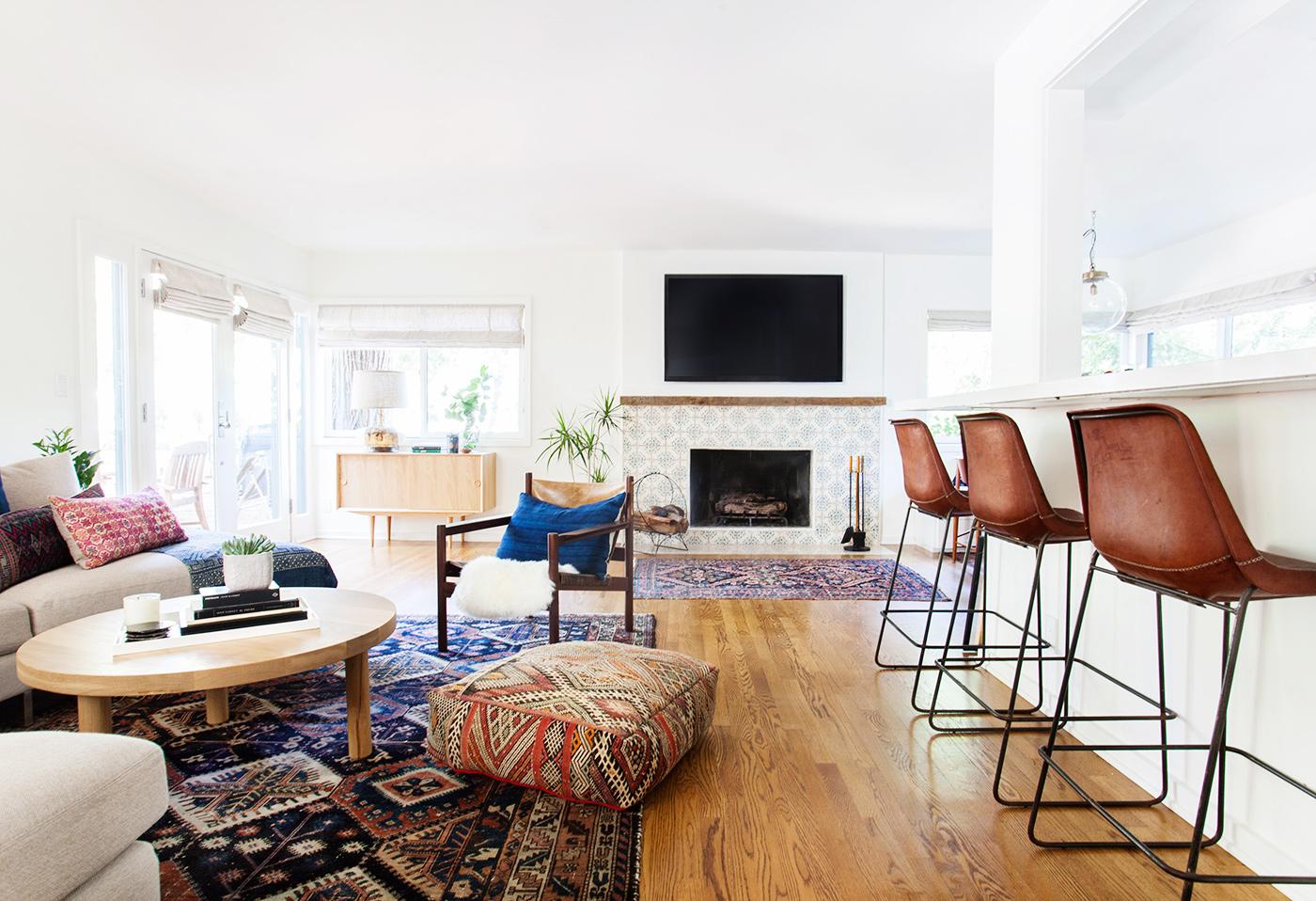 Woonkamer Eclectisch Inrichten : Woonkamer bruin paars gehoor geven aan uw huis