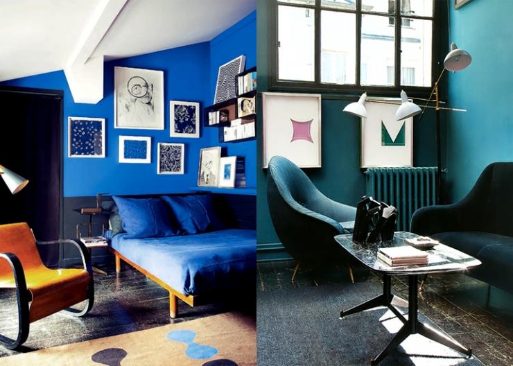 14x blauwtinten in huis interior junkie for Huis verven inspiratie