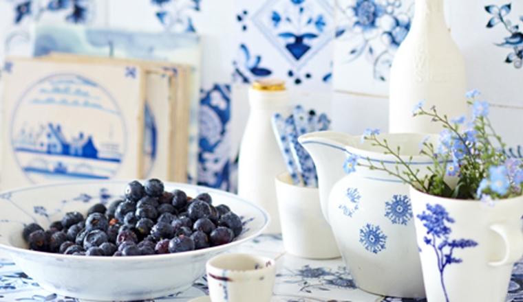 Creatief met Delfts Blauw in huis - INTERIOR JUNKIE