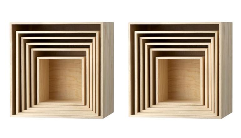 Woonvondst: houten kubusjes - INTERIOR JUNKIE