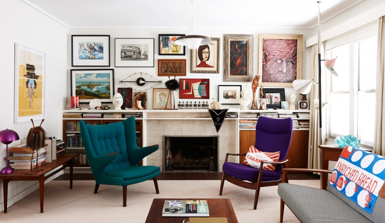 huis vol met moois uit de jaren 50,60,70 - interior junkie, Deco ideeën