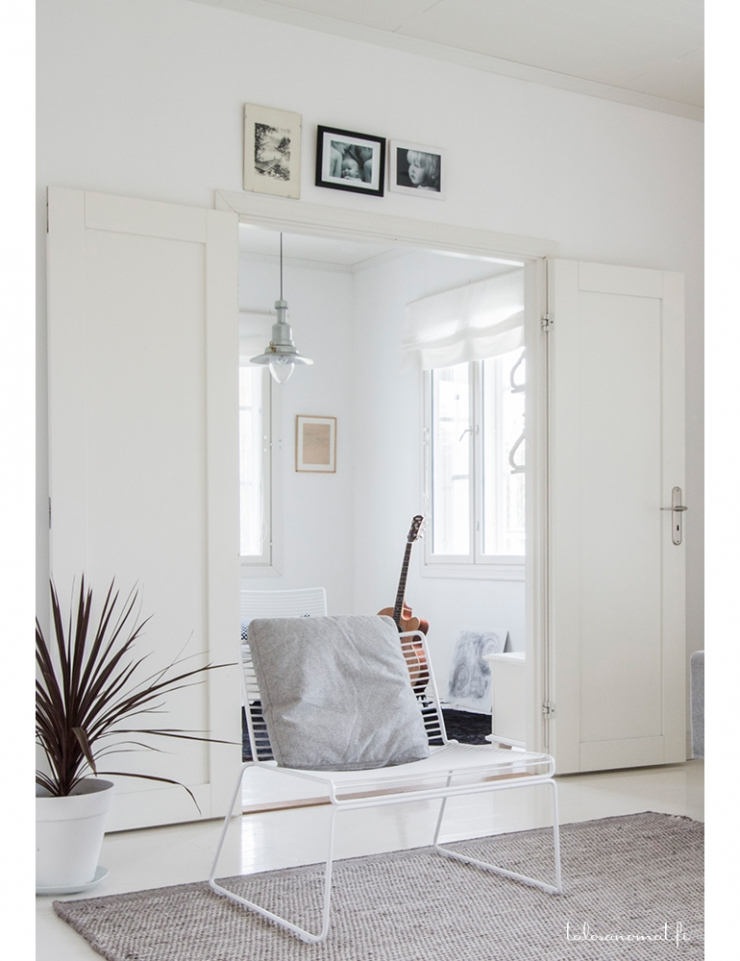 Woonkamer Neutrale Kleuren : Fins huis vol neutrale kleuren interior ...