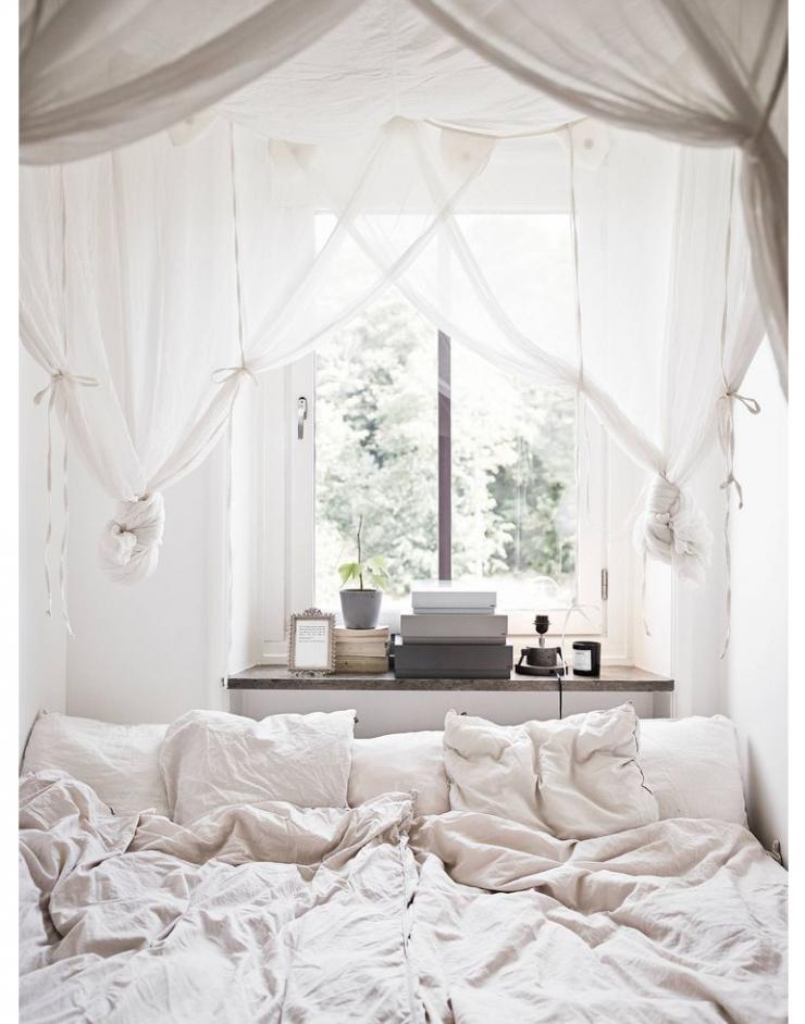 Slaapkamer met schuine dak  huisinrichtencom