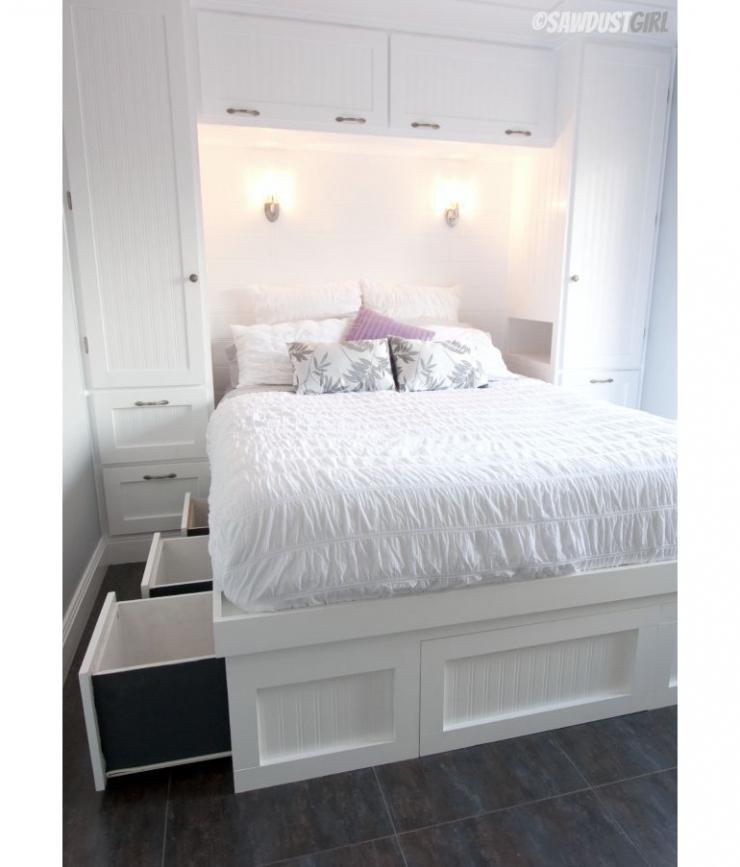11x tips voor een kleine slaapkamer interior junkie - Slaapkamer klein gebied ...