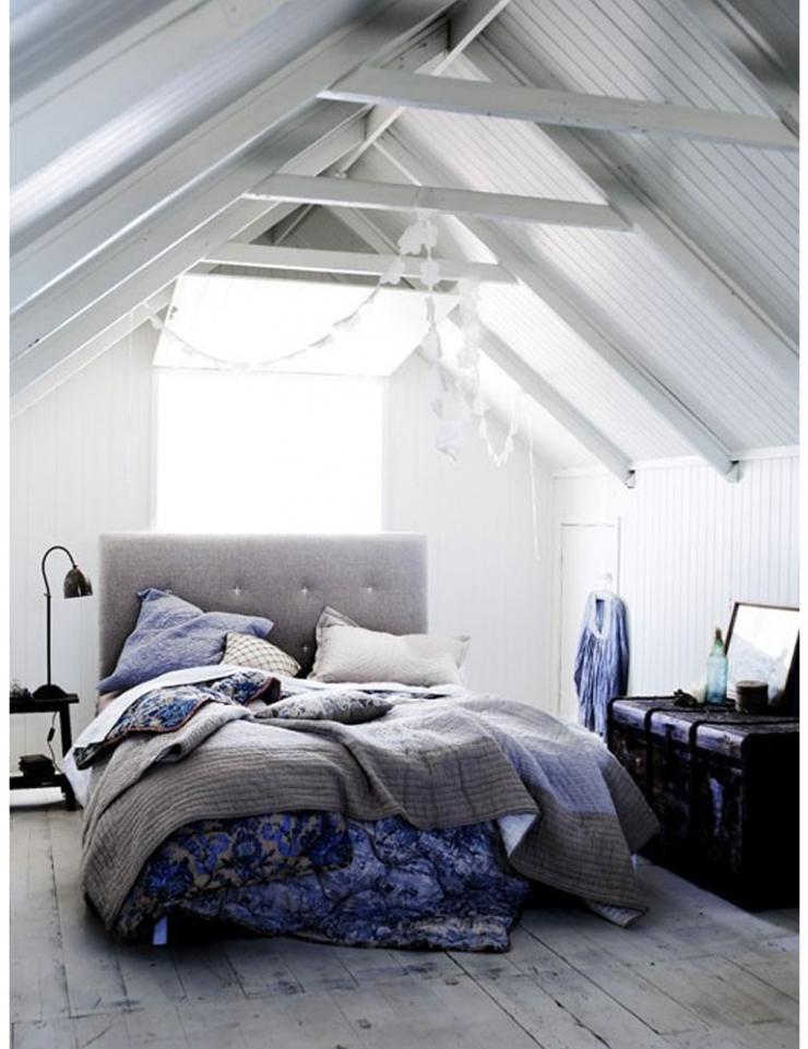 x blauwtinten voor in de slaapkamer  interior junkie, Meubels Ideeën