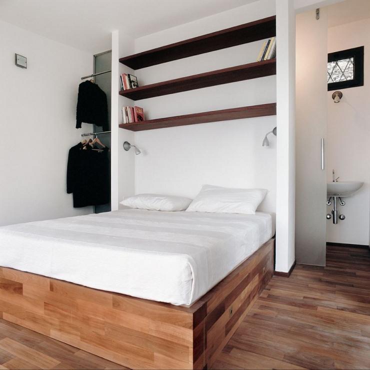 11x tips voor een kleine slaapkamer interior junkie - Kamer indeling ...