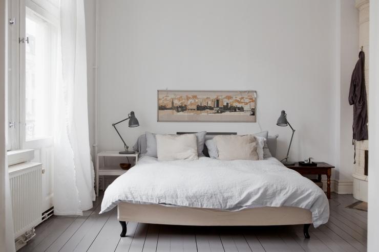 Grijze Vloer Witte Meubels: Muur woonkamer verven images about ...