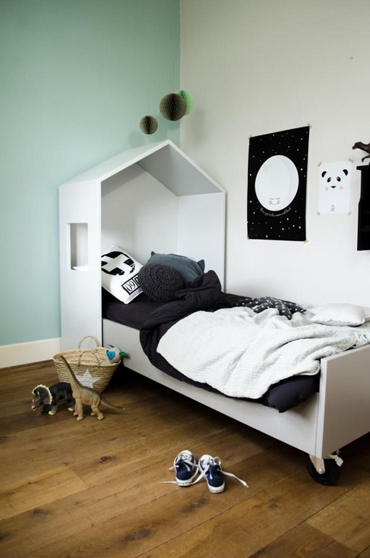 8x de vrolijke pandabeer in huis